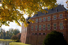 Castle huis ten berg. At the Netherlands is one of the greatest castle of the country Stock Image