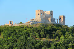 Castle in Hungary. Hungary - Csesznek castle in Central Transdanubia. Medieval hilltop fortress Royalty Free Stock Images