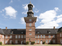 Castle of Husum, Schleswig Holstein, North Germany Royalty Free Stock Photography