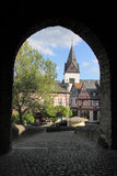 Castle of Idstein in Germany Stock Images