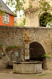 Castle of Idstein, Germany. Castle tower gate with bridge in Idstein, Germany royalty free stock images