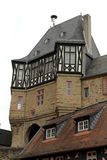 Castle of Idstein, Germany. Castle tower gate with bridge in Idstein, Germany stock image