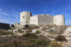 Castle of If in Marseilles Royalty Free Stock Photo