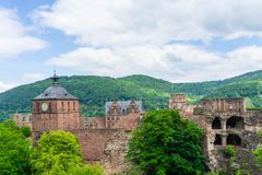 Castle in Heidelberg Baden-Wurttemberg, Germany royalty free stock image