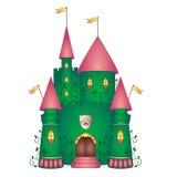 Castle illustration Royalty Free Stock Photos