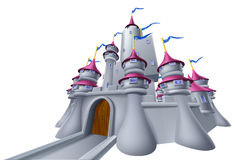 Castle Illustration Stock Images