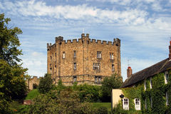 Castle In Durham (England) Stock Photo