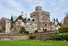 Free Castle In Hatley Park Stock Image - 12071081