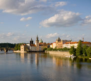 Castle In Prague Stock Photos
