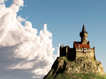 Castle In The Clouds Royalty Free Stock Photo