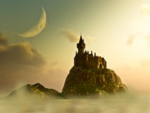 Free Castle In The Mist Royalty Free Stock Photos - 12215638