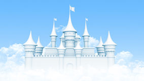 Free Castle In The Sky Stock Photography - 49547472