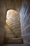 Castle indoors stairs Royalty Free Stock Images