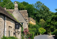 The Castle Inn, Castle Combe. Royalty Free Stock Photography