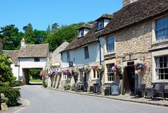 The Castle Inn, Castle Combe. Royalty Free Stock Photo