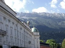Castle of Innsbruck Royalty Free Stock Image