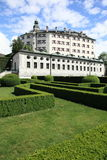 Castle of Innsburck. Royal white castle of Innsbruck, Austria Stock Images