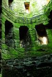 Castle interior. In sounth Wales Royalty Free Stock Photos