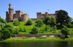 Castle in Inverness, Scotland Stock Images