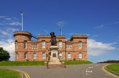 Castle in Inverness, Scotland Royalty Free Stock Photos