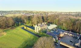 Galgorm Castle Ballymena Co. Antrim Ireland. Galgorm Castle Ballymena Co. Antrim Northern Ireland royalty free stock image
