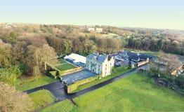 Galgorm Castle Ballymena Co. Antrim Ireland. Galgorm Castle Ballymena Co. Antrim Northern Ireland stock images