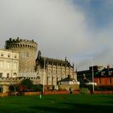 Dublin. Castle Ireland Irlande tourisme tourism Royalty Free Stock Photos