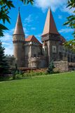 Castle Iron Market, Romania, Castle Stock Image