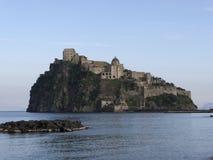 Castle in ischia Royalty Free Stock Photos