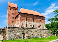 The castle on the island. Trakai Royalty Free Stock Photos