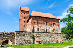 The castle on the island. Trakai, Lithuania Royalty Free Stock Photo