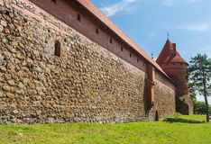 The castle on the island. Trakai, Lithuania Royalty Free Stock Image