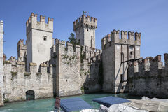 The castle in Italy Stock Photos