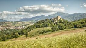 Castle Italy Marche Stock Image
