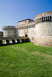 Castle in Italy - Rocca Roveresca Stock Image
