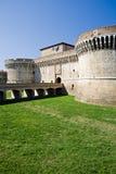 Castle in Italy - Rocca Roveresca. Built in 1480. Senigallia, Adriatic Coast Stock Image