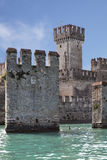 The castle in Italy Royalty Free Stock Photos