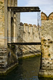 Castle in Italy - Sirmione, Lago di Garda Royalty Free Stock Photos