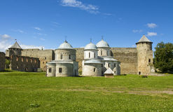 Castle Ivangorod, Russia Royalty Free Stock Photography