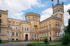 Castle in Jablonowo Pomorskie Royalty Free Stock Photography
