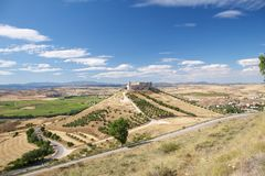 Castle of Jadraque Royalty Free Stock Photo