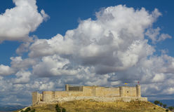 The Castle of Jadraque, Guadalajara. Stock Images