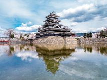 Castle in Japan Royalty Free Stock Photos