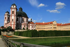 Castle in Jaromerice Royalty Free Stock Photo