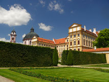 Castle Jaromerice nad Rokytnou Royalty Free Stock Photos