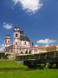 Castle Jaromerice nad Rokytnou Stock Photography