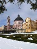 Castle Jaromerice nad Rokytnou Stock Image