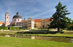 Castle Jaromerice nad Rokytnou, Czech republic,Europe. Old castle Jaromerice nad Rokytnou, Czech republic,Europe Royalty Free Stock Photography