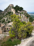 Castle at Jativa, Valencia y Murcia, Spain Stock Photo