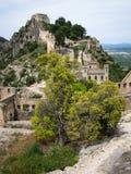 Castle at Jativa, Valencia y Murcia, Spain Stock Images